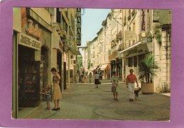 83 DRAGUIGNAN Le Quartier Piétonnier Au Coeur De La Ville Commerces Bijouterie Magasin De Jouets - Draguignan