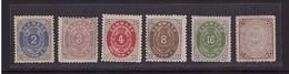 Dänemark 16-21 Ungebraucht  Geprüft (21767) - 1851-63 (Frederik VII)