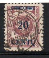 Lituanie : MEMEL /    N 153 / 20 C  Sur 500 M Lilas /  Oblitéré - Lituanie