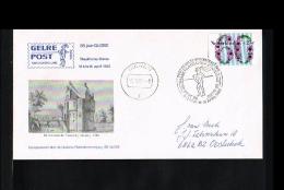 1982 - Netherlands Cover - Exhibitions - Philatelic Exhibition - Gelrepost - 85 Years Globe - Dieren [HV061] - Poststempels/ Marcofilie