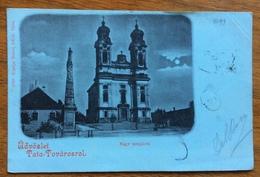 TATA TOVAROSROL  UNGHERIA NAGY TEMPLOM  TO PADOVA 11/5/1899 - Messico