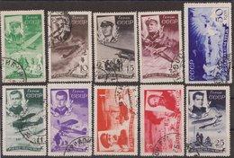 Russia USSR 1935, Mi 499-508, Used - 1923-1991 URSS
