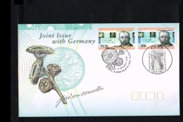 1996 - Australia FDC - Famous People - Ferdinand Von Mueller [HZ016] - Omslagen Van Eerste Dagen (FDC)