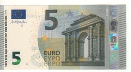 "5 EURO  ""Spain""   DRAGHI    V 007 A2  Serie VB0684761887    /  FDS - UNC - 5 Euro"