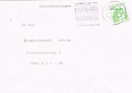 29183. Carta Impresos, Drucksache MÖLLN (Alemania Federal) 1984. Station Kurort - [7] República Federal