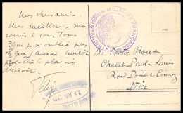 43108 1919 Mission Militaire Francaise En Autriche Austria Wien Carte Postale (postcard) Guerre 1914/1918 War Ww1 - Postmark Collection (Covers)