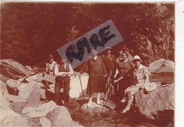 PHOTO ANCIENNE,74,HAUTE SAVOIE,GORGES DE LA DIOSAZ,DIOSE,SOUAY,TORRENT,SERVOZ,5 JUILLET 1927,RARE - Places