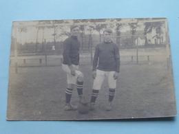 FOOTBALL Identify / Te Identificeren () Anno 19?? ( Zie Foto Details ) ! - Football