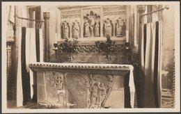 Altar, Trinity Chapel, St David's Cathedral, Pembrokeshire, C.1930s - Mendus RP Postcard - Pembrokeshire