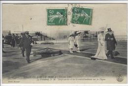 CPA Russie Russia Russian France Tsar Nicolas II Cherbourg Circulé - Russie