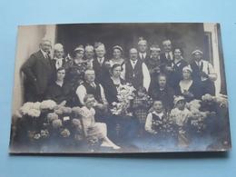 ZILVEREN BRUILOFT ( Te Identificeren ) 29-5-34 ( Fotokaart ) > 1934 ( Zie Foto Details ) ! - Photographs