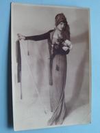 FLORIA TOSCA ( Fotokaart LYON 3 Place Meissonier ) > 19?? ( Zie Foto Details ) Coin Plier ! - Femmes Célèbres