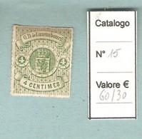 LUSSEMBURGO-1865 Stemma - 4 Centesimi. - 1859-1880 Stemmi