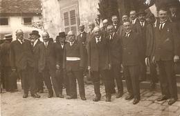 Couches-les-Mines :Carte Photo Inauguration Du Sanatorium De Mardor - France