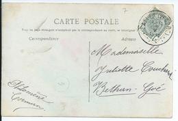 Fantasiekaart Met OCB 81 - Afstempeling BAELEN(VESDRE)- COBA 50 - 1893-1907 Armoiries