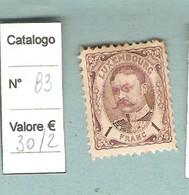 *LUSSEMBURGO-GRAN DUCA GUGLIELMO IV-1906 1franco Nuovo,linguellato. - 1906 Guglielmo IV