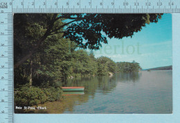 Baie St-paul Quebec Canada  - Dans Charlevoix   -  CPM Post Card, Carte Postale - Quebec