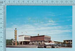 Drummondville Quebec Canada  - Hotel Le Dauphin, Animé Vieille Auto  -  CPM Post Card, Carte Postale - Nouveau-Brunswick