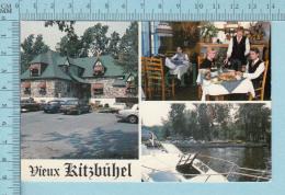 Ile Perrot Quebec Canada  - Vieux Kitzbûhel Restaurant Autrichien, Multi-vues  -  CPM Post Card, Carte Postale - Nouveau-Brunswick