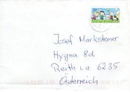 Auslands - Brief Von 91171 Greding Mit 90 Cent Peanuts 2018 - BRD