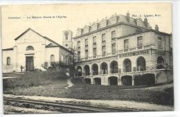 1 Postkaart Watermael-Boitsfort La Maison Haute Et L'Eglise - Watermael-Boitsfort - Watermaal-Bosvoorde