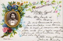 D59  Saint-Sylvestre-Cappel  Correspondance Avec Photo D'une Petites Fille Yolande Favesdin - Hazebrouck