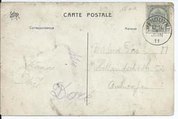 Zichtkaart Wenduyne Met OCB 81 - Afstempeling WENDUYNE Type 2L - COBA 8 - 1893-1907 Wapenschild