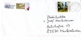 Brief Von Briefzentrum 13 Mit 70 Cent Jean Paptiste Oudry + Werbestempel WWF 2018 - BRD