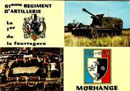 61 Eme REGIMENT  D'ARTILLERIE  / MORHANGE  / LOT  269 - Reggimenti