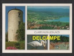 DF / 39 JURA / CLAIRVAUX LES LACS / VUE GENERALE - LA TOUR - LA PLAGE - Clairvaux Les Lacs