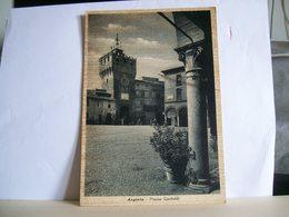 1942 - Ferrara - Argenta - Piazza Garibaldi - Torre Con Orologio - Animata - Cartolina Originale Storica - Animata - Ferrara