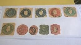 ARGENTINA PICCOLO LOTTO SU FRAMMENTO E USATI - Used Stamps