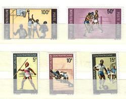 REPUBBLICA CENTROAFRICANA 1969 - SPORT VARI - SERIE COMPLETA + POSTA AEREA  - MNH ** - Centraal-Afrikaanse Republiek