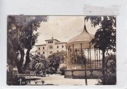 JARDIN KIOSKO Y HOTEL. CIUDAD VICTORIA TAMAULIPAS. VOYAGE CIRCA 1920's. ADVERTSING: TOME CERVEZA XX INSUPERABLE- BLEUP - Mexico
