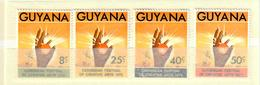 GUYANA 1972 - 1° FESTIVAL ARTISTICO DEI CARAIBI - SERIE COMPLETA - MNH ** - Guiana (1966-...)