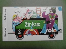 ROLO Kids - Autocollant Alimentation Biscuits Sucreries - Train Du Cirque Dompteur Cochons - Abziehen Aufkleben - Stickers