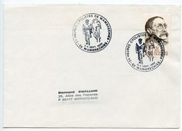 France 1983 Heures Cyclistes De Wambrechies - Bicycle Race Cover - Postmark Collection (Covers)