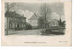 21974  Cpa  THAON Les VOSGES : Avenue Thiers ! 1917 ! ACHAT DIRECT !! - Thaon Les Vosges