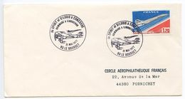 France 1977 Le Bourget, Hommage To Lindbergh & Spirit Of St. Louis Cover - Postmark Collection (Covers)