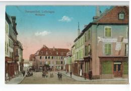 21323  CPA  SAARGEMÜND , Marktplatz   1916 ! ACHAT DIRECT !! - Sarreguemines