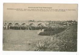 21343 CPA    FONTENOY Sur MOSELLE  : L'armée Allemande , Se Fait Photographier Apres Avoir Réparé Le Pont  En 1871 - Autres Communes