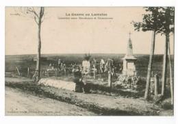 """21349  CPA  """" La Guerre En Lorraine """"  ,  Cimetière Entre Bernécourt Et Grosrouvres ! 1916   ACHAT DIRECT !! - Andere Gemeenten"""