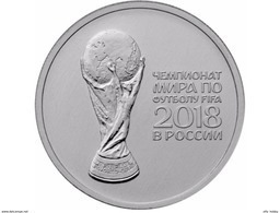 Russia, 2017 World Cup 2018 25 Rbl Rubels  2nd Issue UNC - Russie