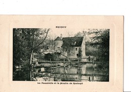BRUNOY. -  La Passerelle Et Le Moulin De Rochopt.  Cachet Du 5 Mai  1914. - Brunoy
