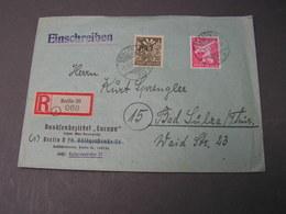 Berlin 20 N R-nach Bad Sulza 1945 - Sowjetische Zone (SBZ)