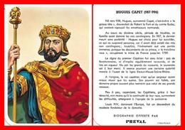 CHROMOS. Beurre PREVAL. Les Rois De France. HUGUES CAPET...D933 - Artis Historia