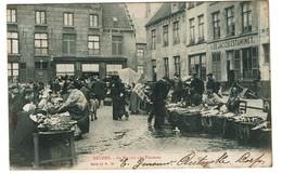 Bruges - Au Marché Aux Poissons - 1903 - In De Jacob Estaminet - Edit. Albert Sugg Serie 11/78 - 2 Scans - Brugge