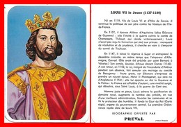 CHROMOS. Beurre PREVAL. Les Rois De France. LOUIS VII Le Jeune...H007 - Artis Historia