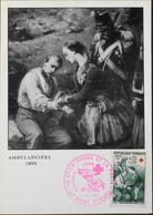 CP. Philatélique - 1er Jour - Croix-Rouge - Ambulancière - St-Etienne Le 10.12.1966 - En TBE - 1960-69
