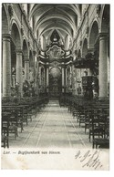 Lier - Begijnenkerk Van Binnen - 1905 - 2 Scans - Lier